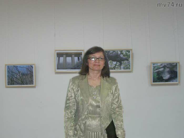 Ягодинцева Нина - российская поэтесса, автор выставки
