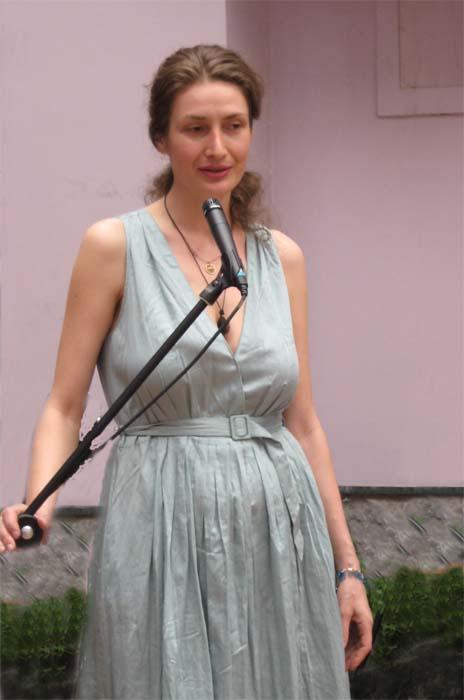 Размышкина Анна Николаевна, искусствовед выставочного зала Зимний