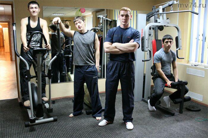Тяжеловесы - гордость спортклуба ЧТЗ-сила