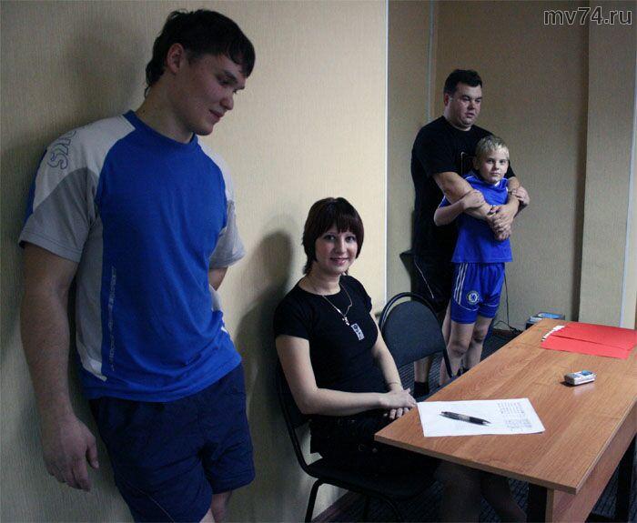 В спортклуб ЧТЗ-сила ходят семьями