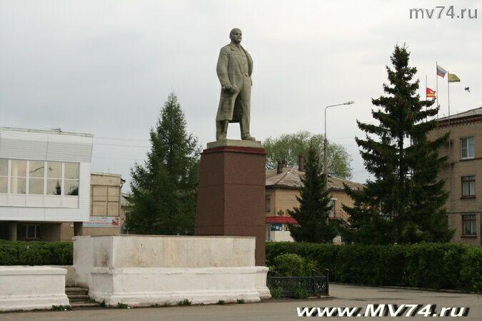 Памятник Ленину в Аргаяше