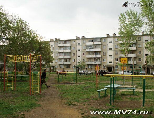Детская площадка в Аргаяше