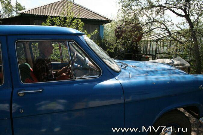 Виктор Нестеров и его машина