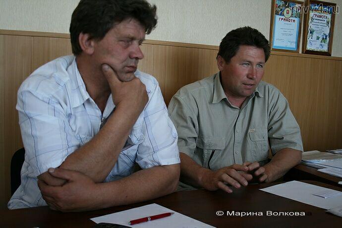 Рафик Рахимьянович Чутбасов и Сергей Васильевич Чайкин