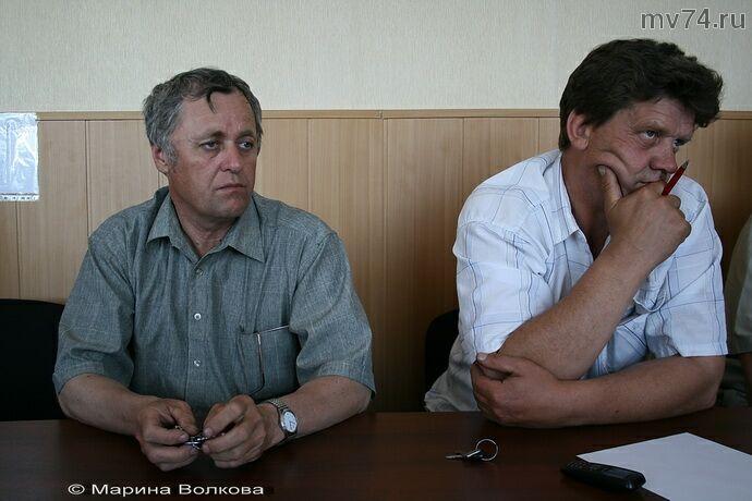 Наиль Батршин и Сергей Чайкин, главы сельских поселений