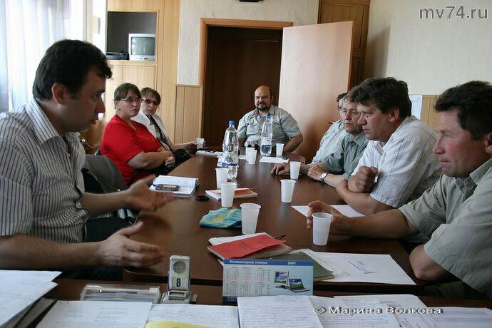 Выездное заседание Ассоциации сельских муниципальных образований