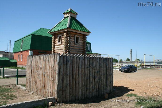 Сторожевая башня-символ Уйского