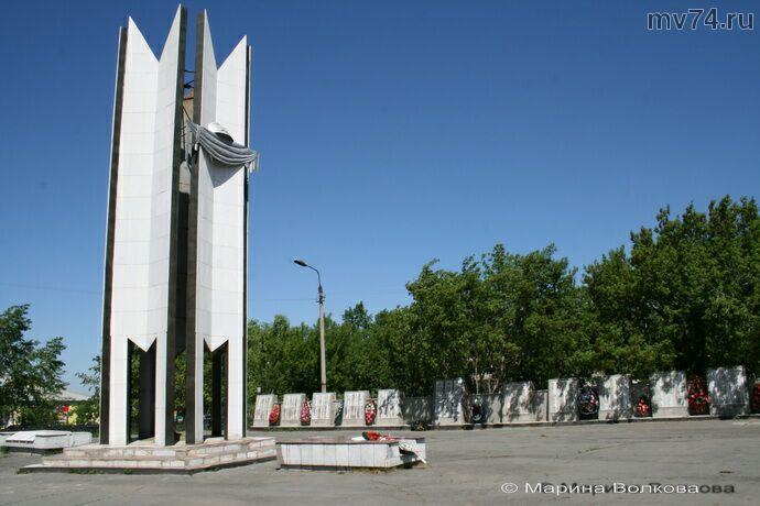 Памятник павшим в Уйском