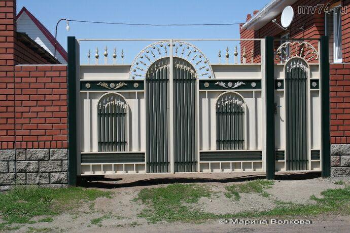 Новые ворота в Верхнеуральске