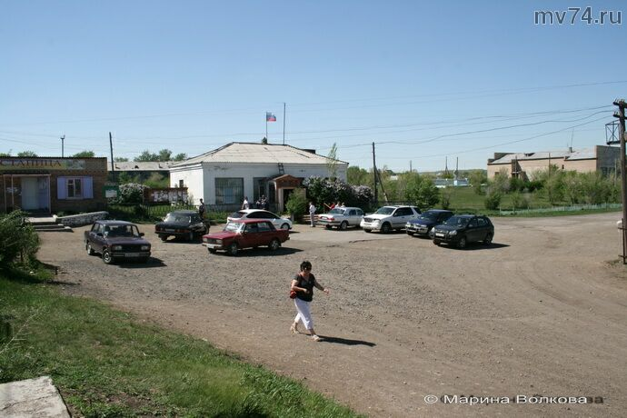 Центральная площадь села Спасское