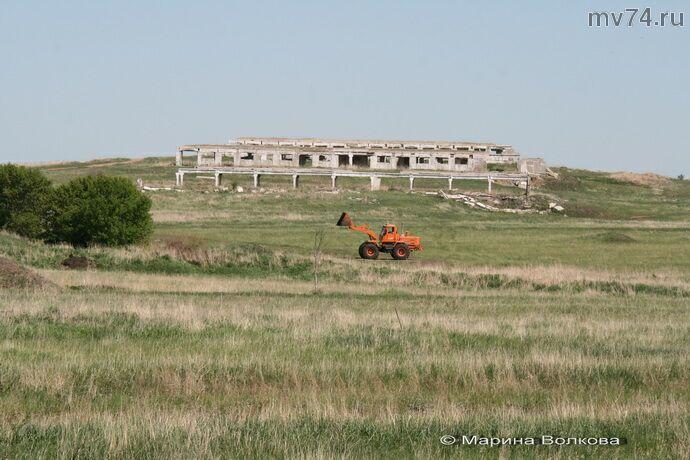 Погрузчик Спасского поселения, купленный на деньги, выделенные на укрупнение