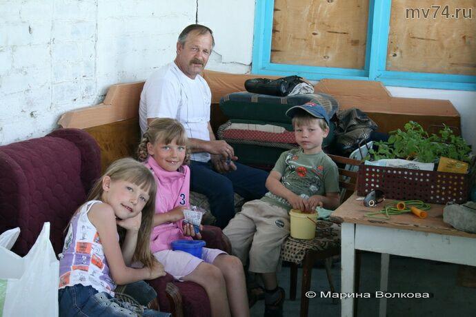 Муж и внуки Ольги Казаковой