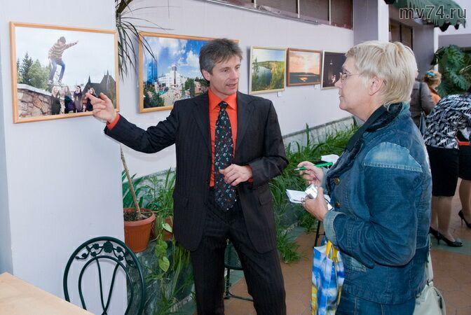 Андрей Юдин дает интервью