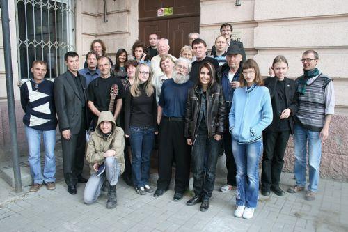 Участники литературного вечера 30.04.2010