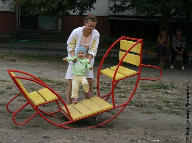 Благоустройство детских площадок в Челябинске