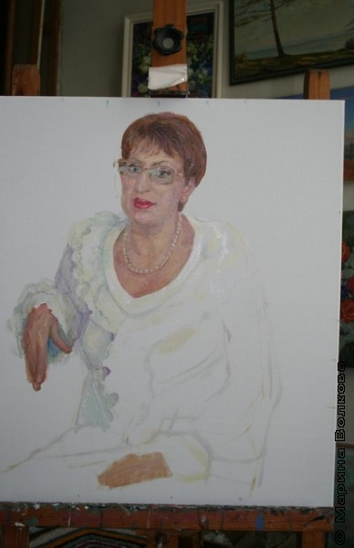 Как создаётся портрет