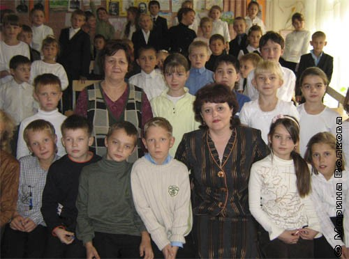Елена Раннева в гимназии № 26