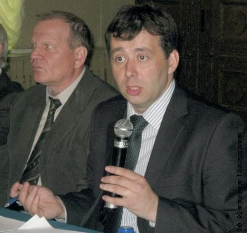 Михаил Дегтярёв и Юрий Гурман