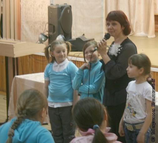 Нина Пикулева в 20-ой школе Миасса