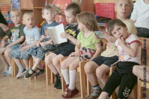 Читательский марафон в детском доме