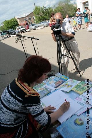 "Нина Пикулева ""под прицелом"" камеры"