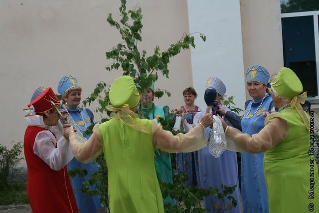 Праздник Троицы на Увельском Арбате
