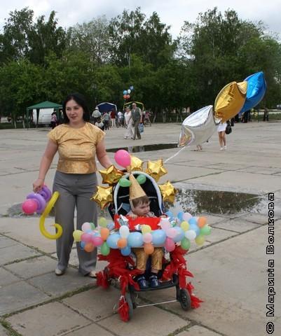 цирковая коляска