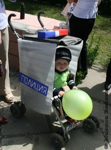 как украсить коляску