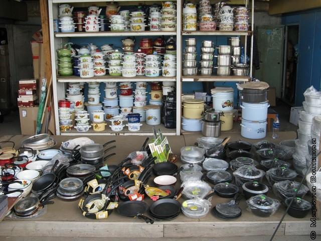 Рынок посуды