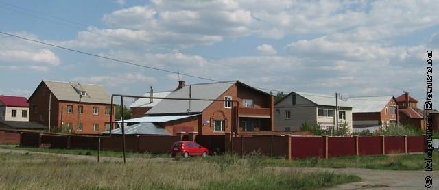 Южноуральск окружён коттеджными посёлками