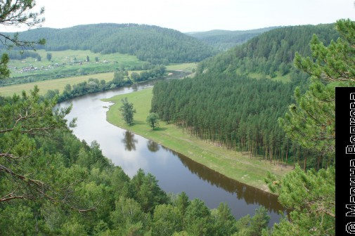 Река Ай, Челябинская область