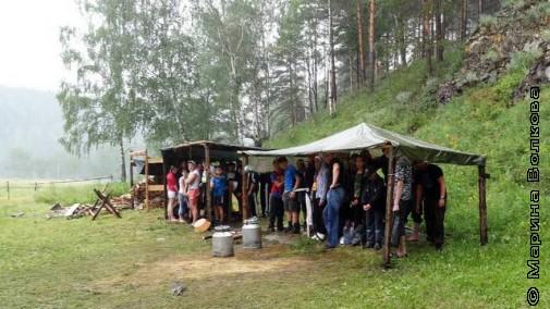 В государственном лагере