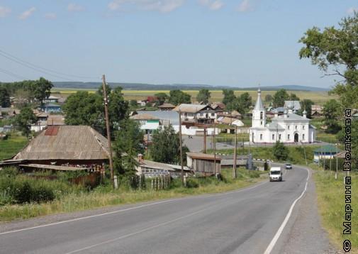 Церковь в селе Айлино