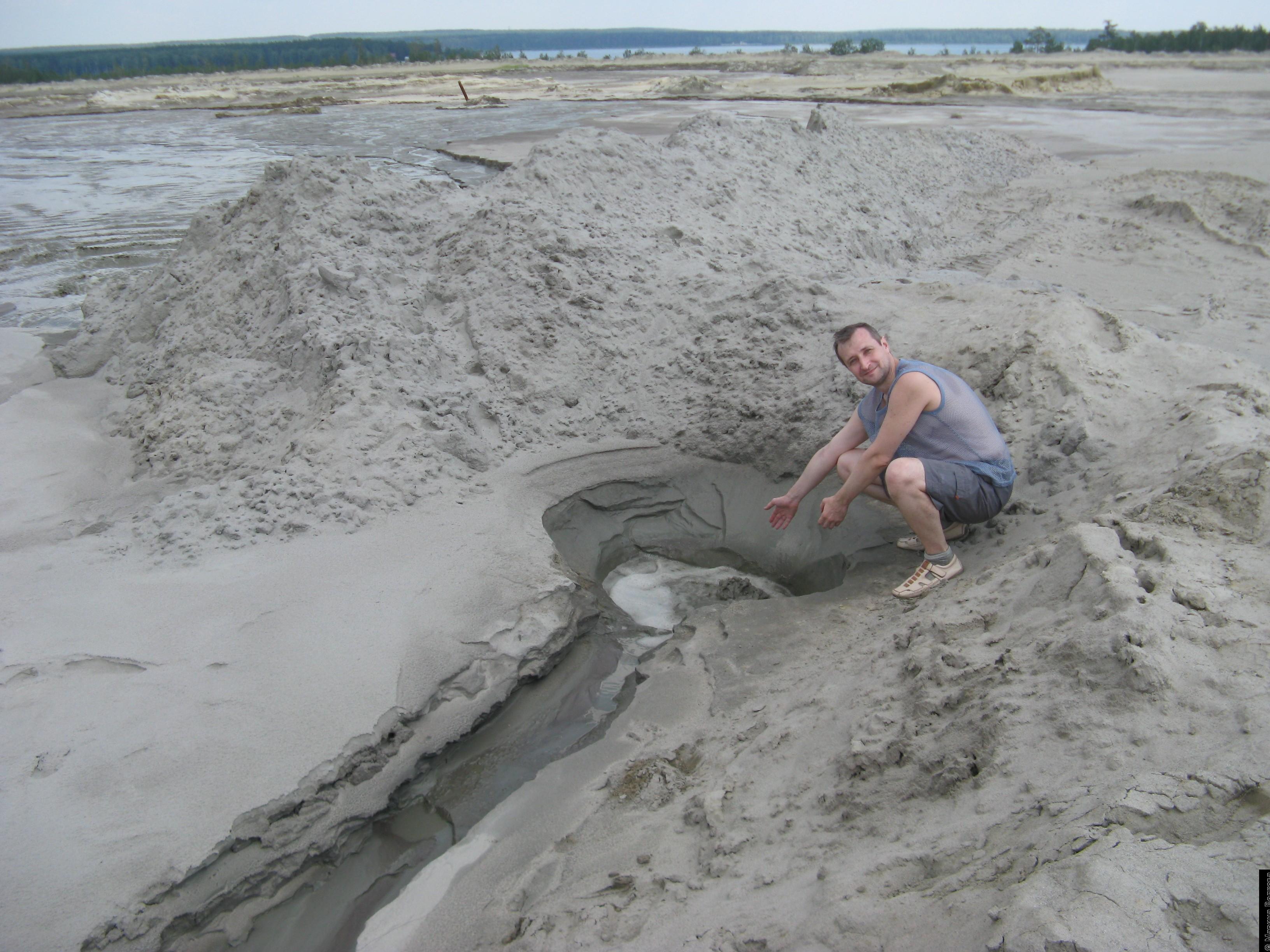 Как промыть песок