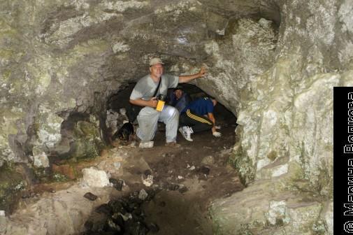 В пещерах Айских притесов
