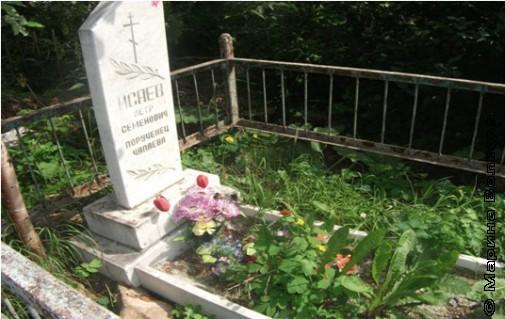 Могила Петьки, порученца Чапаева