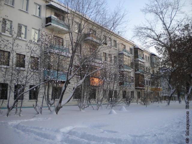 Закат на улице Горького