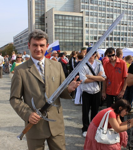 С волшебным мечом темные силы не страшны