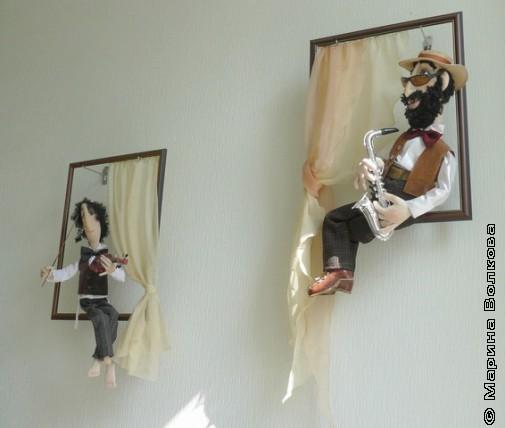 Куклы Музыканты