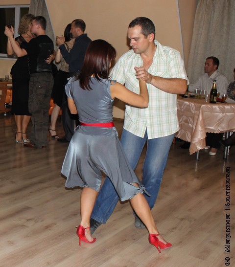 В аргентинском танго мужчина всегда главный