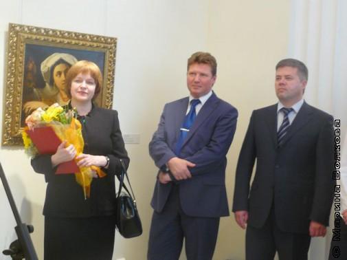 Ирина Лебедева, Алексей Бетехтин и Станислав Мошаров