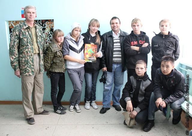 Лучшие краеведы школы с Владимиром Юриным и Владимиром Бредневым