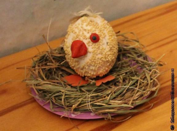 поделка из яйца