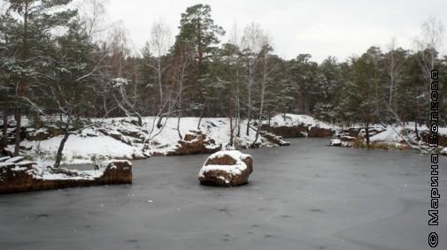 Начало зимы в парке Гагарина