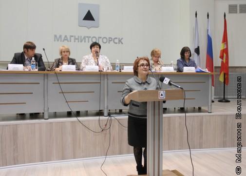 Ирина Николаевна Михайленко, зам. Главы Магнитогорска