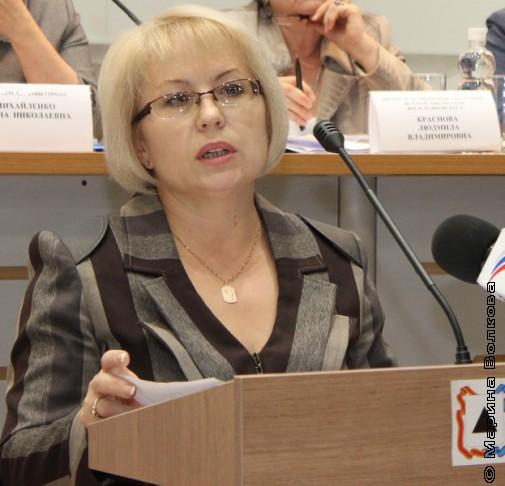Наталья Ивановна Диская, заместитель министра культуры Челябинской области
