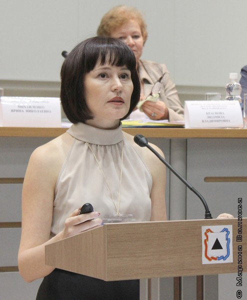 Наталья Геннадьевна Валейшо, зав. отделом МУК «ЦДБС» Магнитогорска