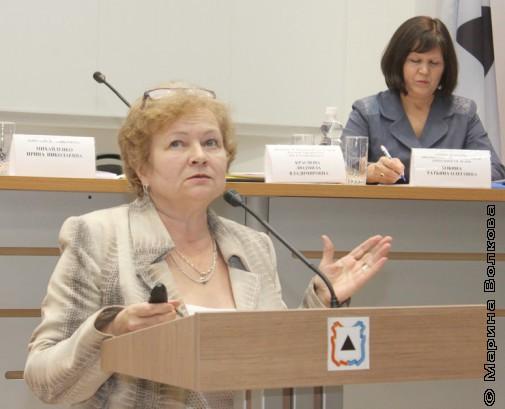Людмила Владимировна Краснова, директор ЧОДБ им. В.В.Маяковского
