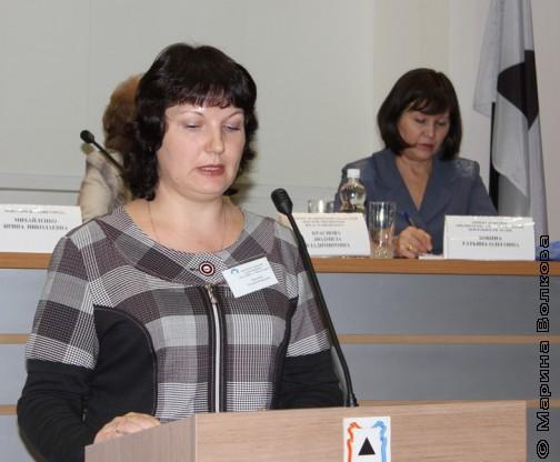 Татьяна Валерьевна Насонова, заместитель директора по научной работе МУК «ЦДБС» Магнитогорска