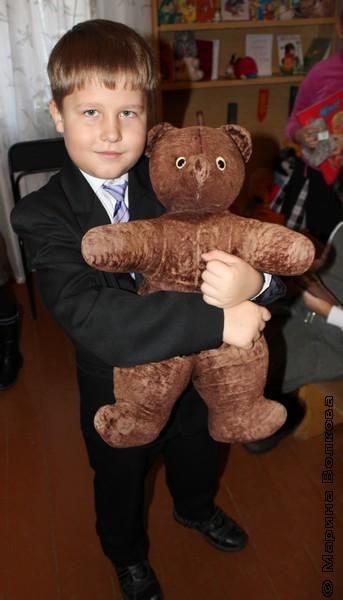 Самый русский медвежонок
